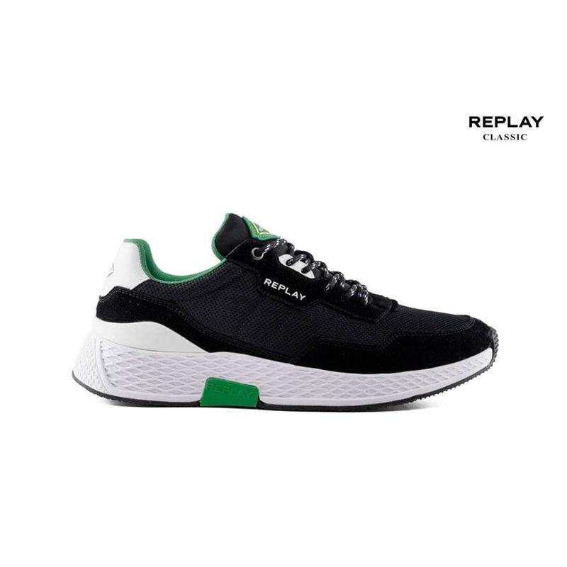 Tenis-Para-Hombre-Classic-Check-Replay451