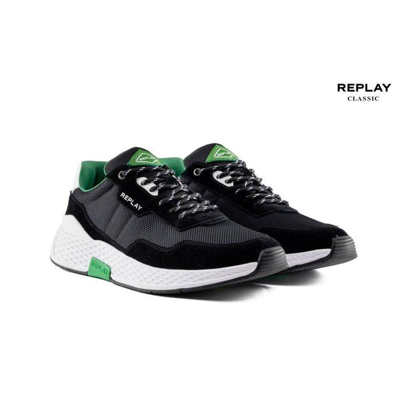Tenis-Para-Hombre-Classic-Check-Replay452