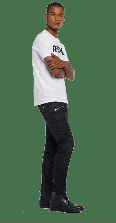 Camiseta-Para-Hombre-T-Shirt-Blanco-M-Replay1427