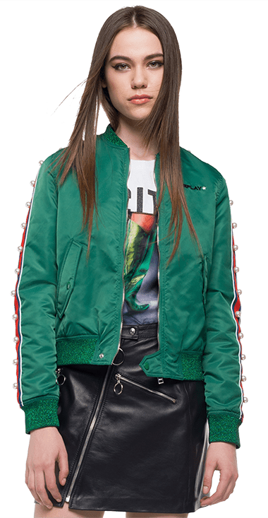 Chaqueta-Para-Hombre-Jacket-Verde-M-Replay3908