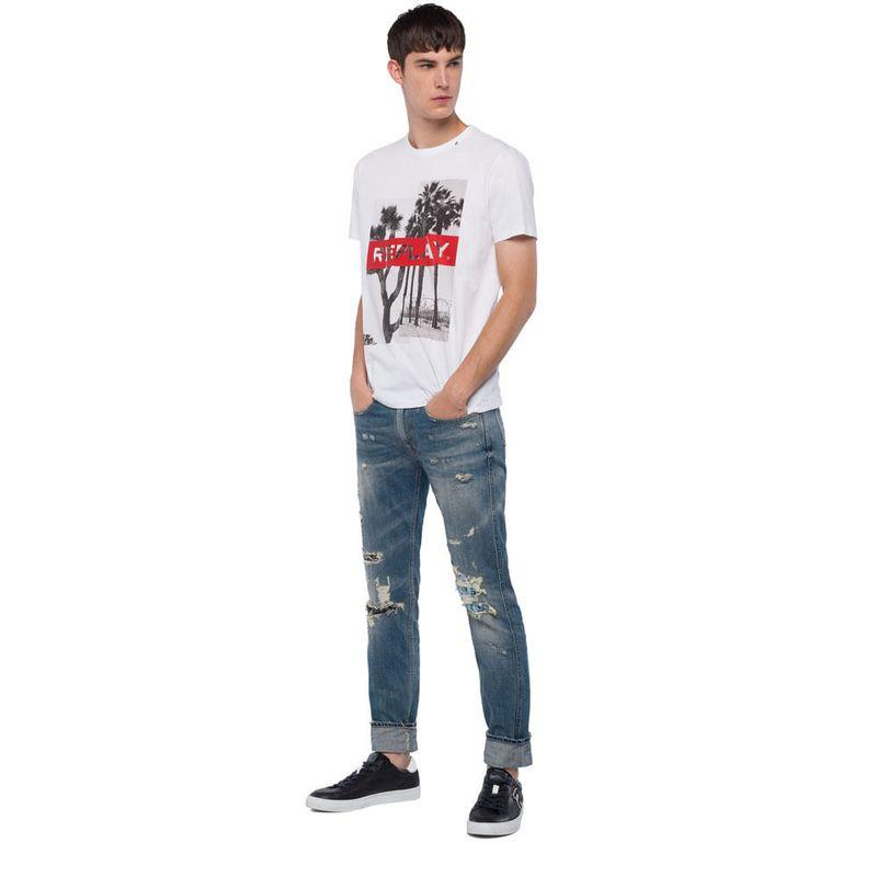 Camiseta-Para-Hombre-Replay685