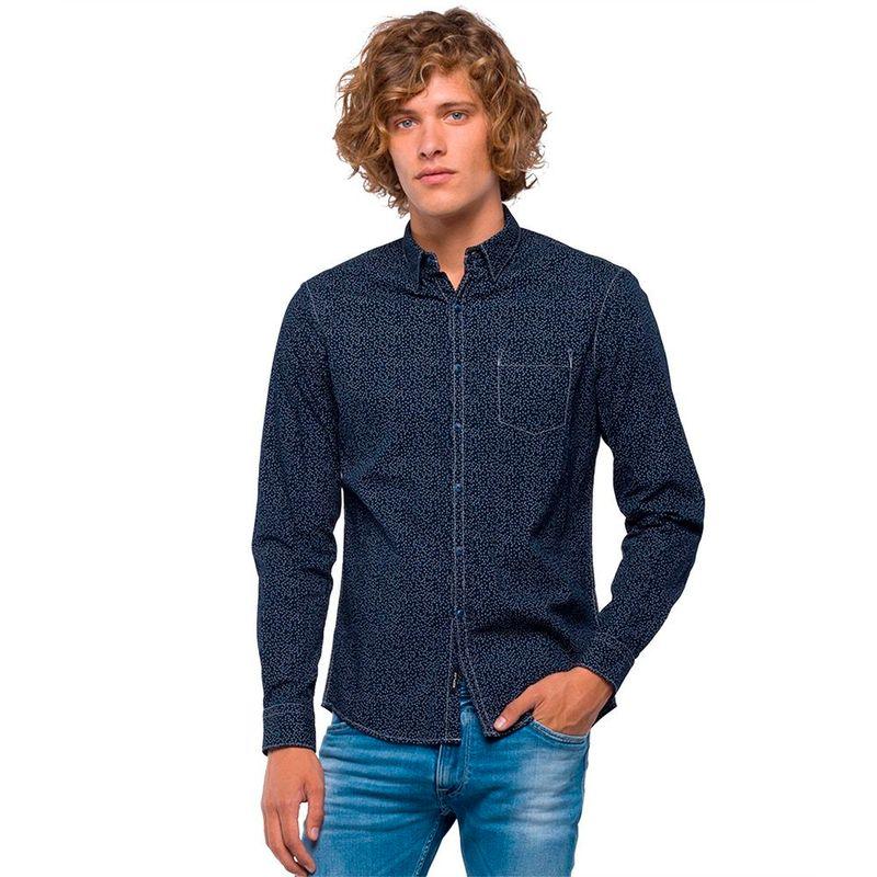 Camisas-Para-Hombre-Replay218