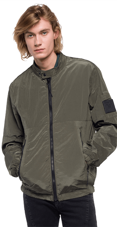 Chaqueta-Para-Hombre-Jacket-Verde-Xl-Replay1831