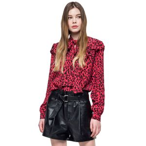 All Over Animalier Crepe De Chine para mujer Replay