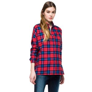 Yarn Dyed Cotton Flannel Check para mujer Replay