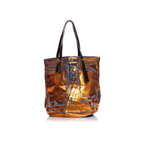 Denim Leather Product Washed para mujer Replay