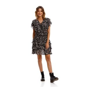 All Over Printed Cachemire Viscose Geore para mujer Replay