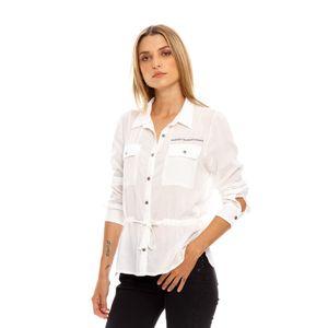 Camisa M/L para mujer Marithe Francois Girbaud