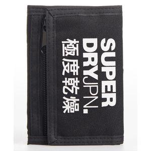 Tri_Fold Polyester Wallet para hombre Superdry