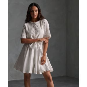 Ellison Textured Lace Dress para mujer Superdry