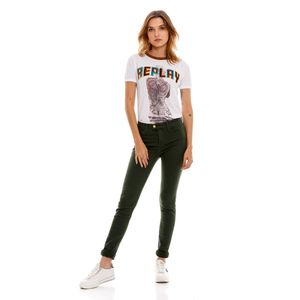 Touch High Waist Skinny para mujer Replay