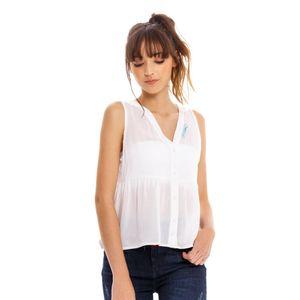Camisa M/S para mujer Marithe Francois Girbaud
