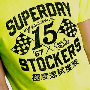 Motor Tee para hombre Superdry