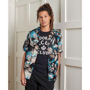 Ss Cut&Sew Hawaiian Shirt para hombre Superdry