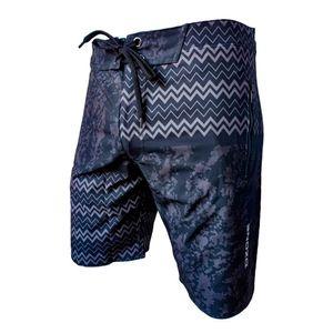 Pantaloneta Larga Para Hombre Combat Navy Dzone