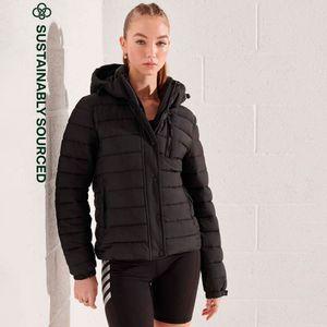 Classic Fuji Padded Jacket para mujer Superdry