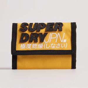 Billetera Pequeña Para Hombre Montauk Velcro Wallet Superdry