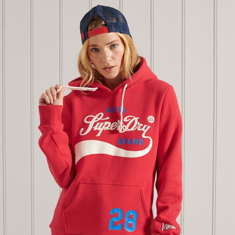 Buzo-Hoodie-Cerrado-Para-Mujer-Collegiate-Cali-Graphic-Hood-Superdry