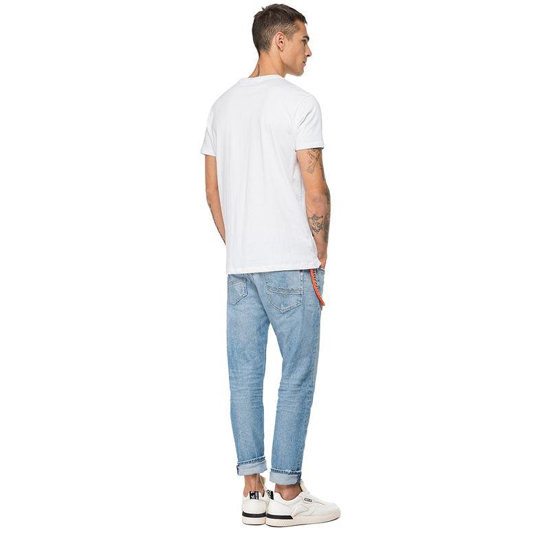 Camiseta-Para-Hombre-Piece-Dyed-Single-J-Replay