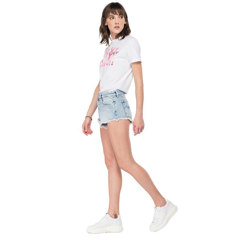 Camiseta-Para-Mujer-Fine-Cotton-Jersey-Replay
