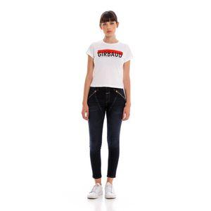 Jean Stretch Para Mujer Zipper High Marithe Francois Girbaud