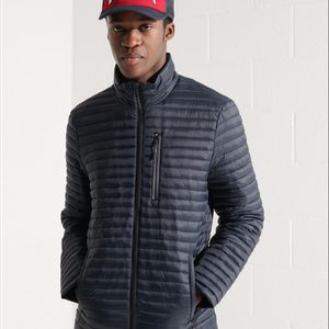 Chaqueta Padded Para Hombre Packaway Non_Hooded Fuji Superdry