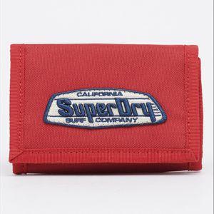 Billetera Pequeña Para Hombre Cali Velcro Wallet Superdry