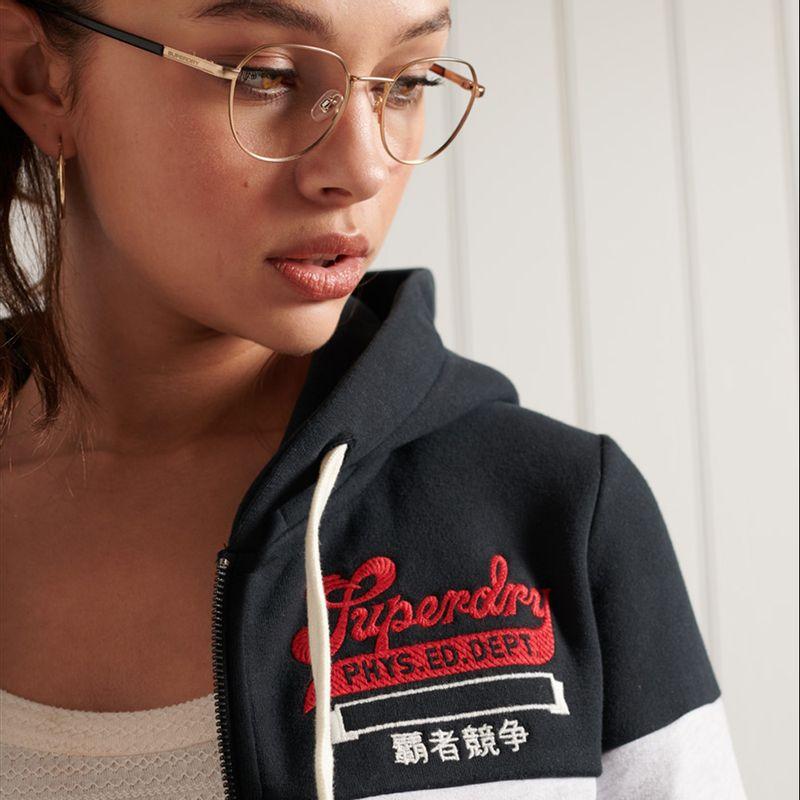 Buzo-Hoodie-Abierto-Para-Mujer-Collegiate-Col-Block-Ziphoodbb-Superdry
