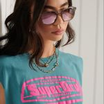 Camiseta-Para-Mujer-Cali-Surf-Graphic-Tank-Superdry