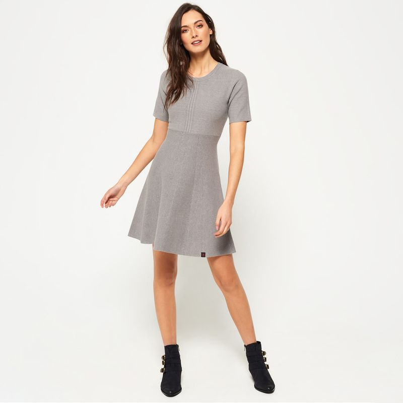 Vestido-Medio-Para-Mujer-Lexi-Fit-And-Flare-Knit-Dress-Superdry