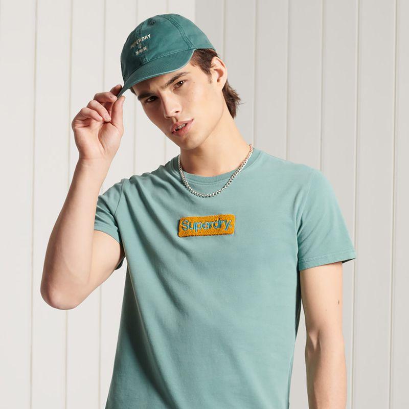 Camiseta-Para-Hombre-Cl-Workwear-Tee-185-Superdry