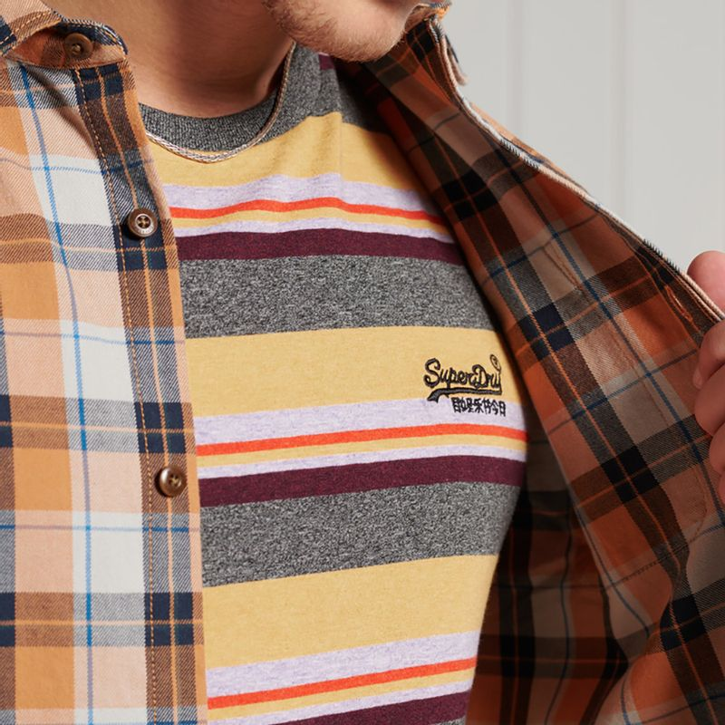 Camiseta-Para-Hombre-Ol-Stripe-Tee-Superdry