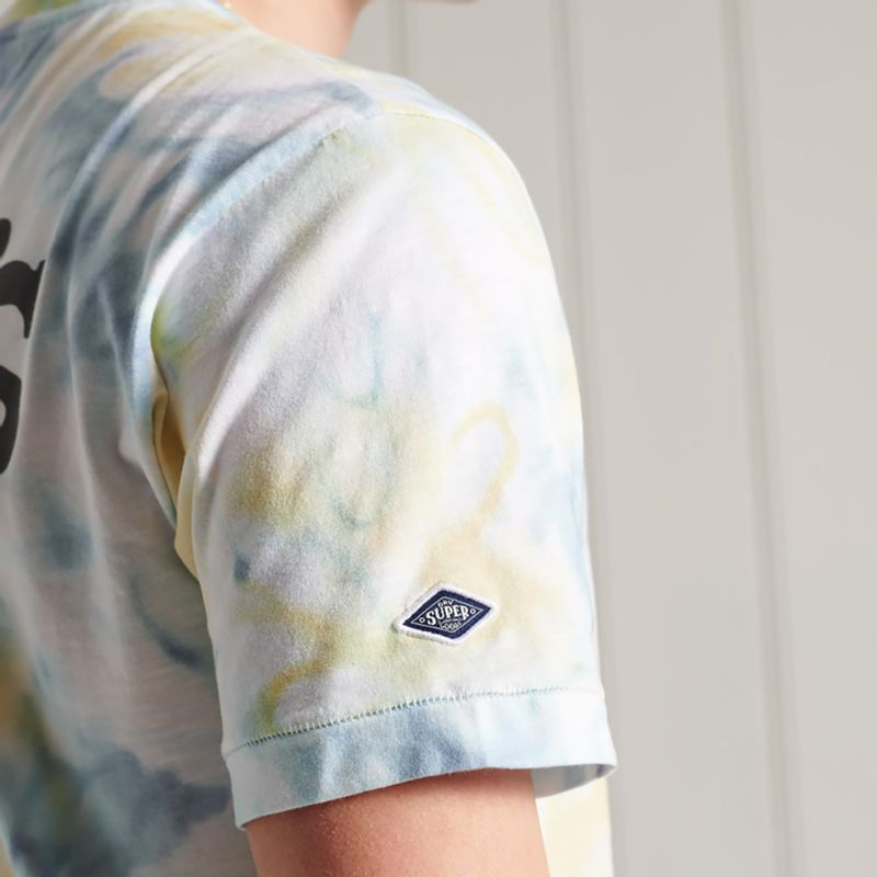 Camiseta-Para-Hombre-Sushi-Rollers-Pkt-Tee-Superdry