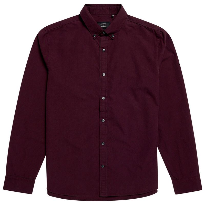 Camisa-Para-Hombre-Classic-University-Oxford-Superdry