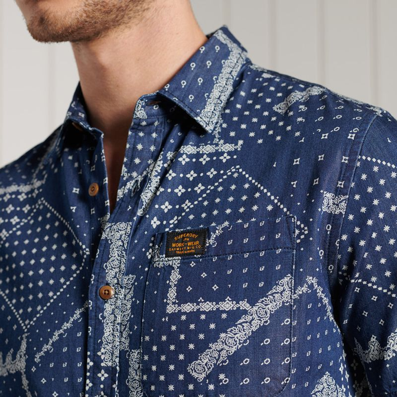 Camisa-Para-Hombre-Workwear-Shirt-Superdry