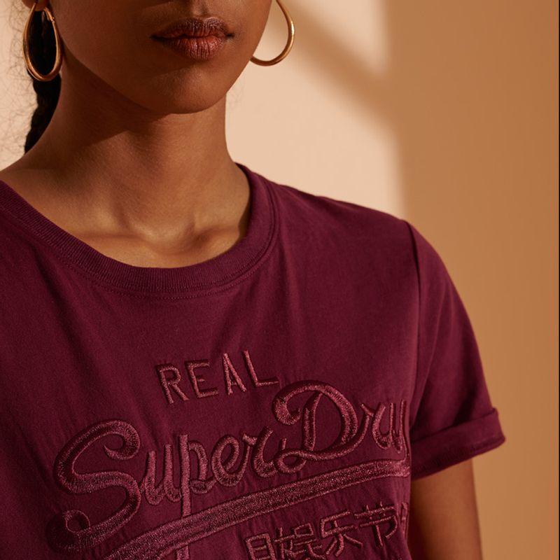 Camiseta-Para-Mujer-Vl-Tonal-Emb-Tee-Superdry