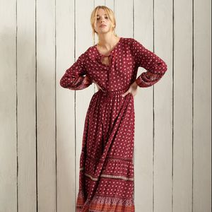 Vestido Largo Para Mujer Ameera Maxi Dress Superdry