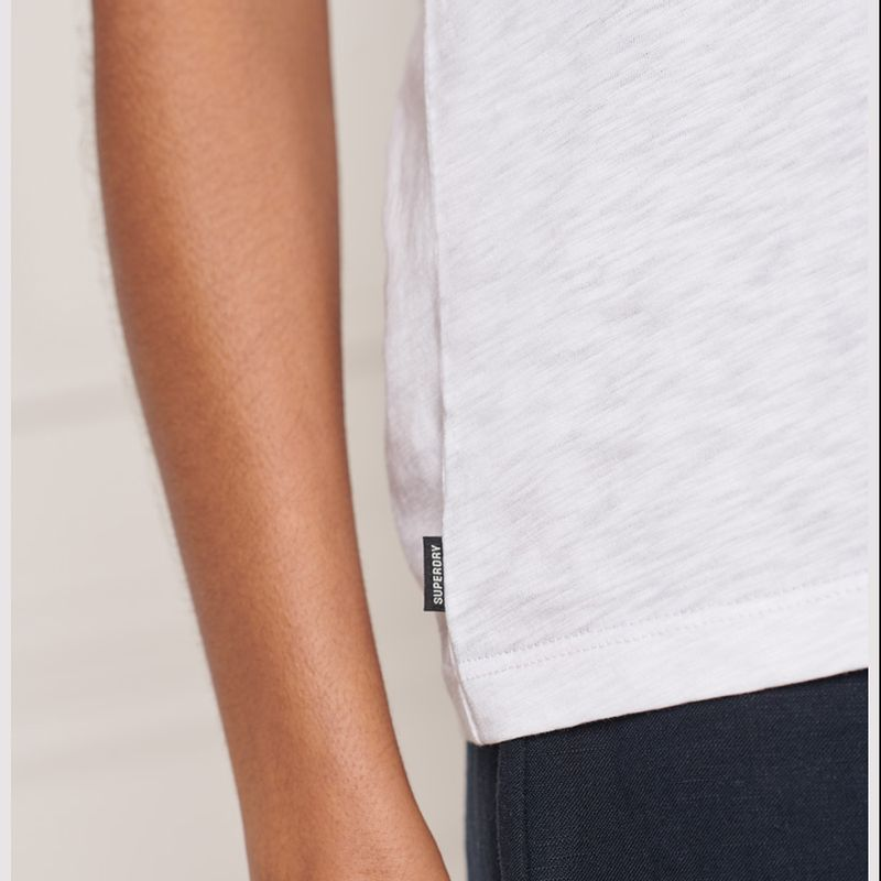Camiseta-Para-Mujer-Pocket-V-Neck-Tee-Superdry