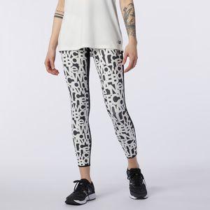 Pantalon Legging Para Mujer Relentless Printed High Rise Tight New Balance