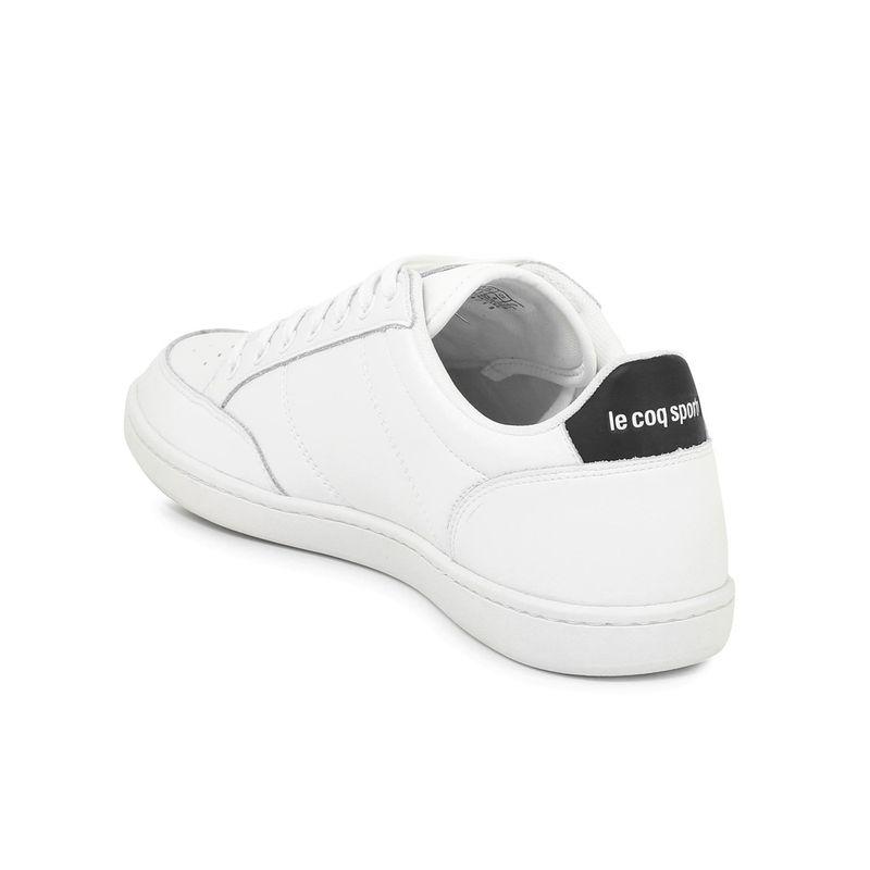 Tenis-Para-Hombre-Court-Clay-Optical-White-Black-Le-Coq-Sportif