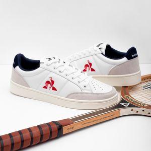 Tenis Para Hombre Court Net Optical White/Bbr Le Coq Sportif 33309