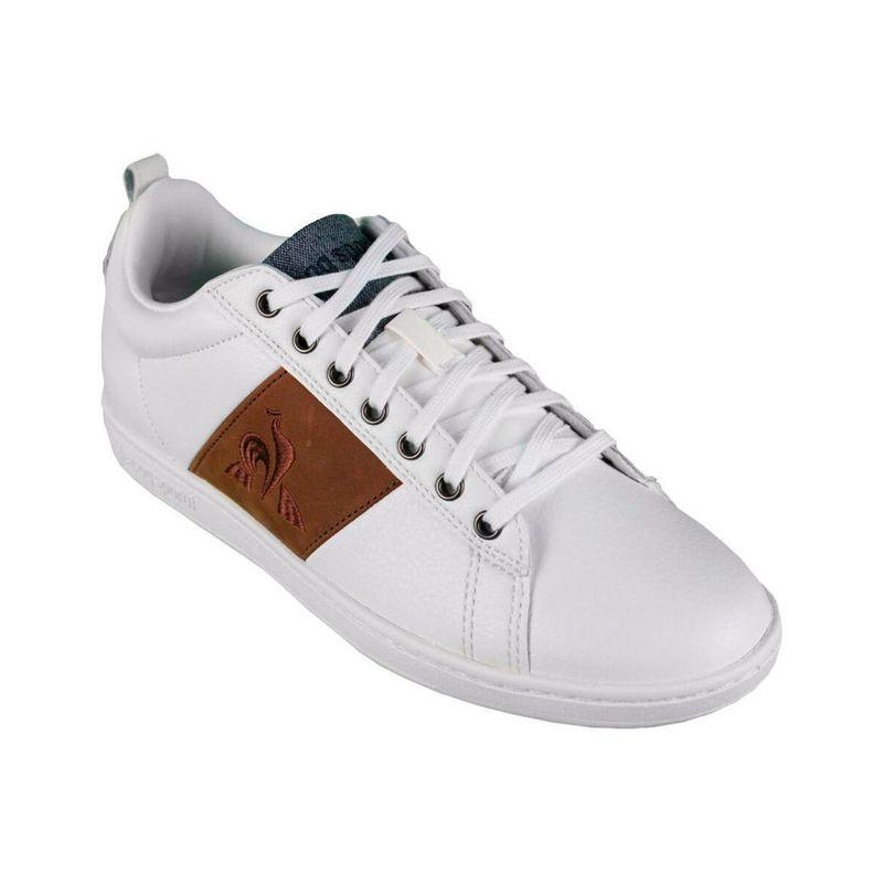Tenis-Para-Hombre-Courtclassic-Optical-White-Cognac-Le-Coq-Sportif