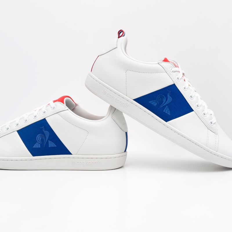 Tenis-Para-Hombre-Courtclassic-Bbr-Optical-White-Cobalt-Le-Coq-Sportif