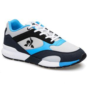 Tenis Para Hombre Lcs R750 Retro Galet/Atomic Blue Le Coq Sportif 34143