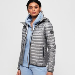 Chaqueta Padded Para Mujer Core Down Hooded Jacket Superdry 18614
