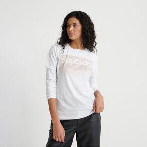 Camiseta  Para Mujer Swiss Logo Cascade Entry Tee Superdry 28555