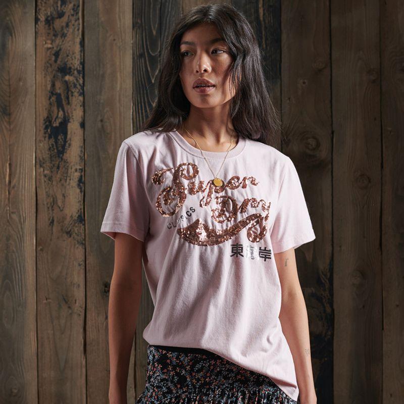 Camiseta--Para-Mujer-Script-Sequin-Tee-Superdry