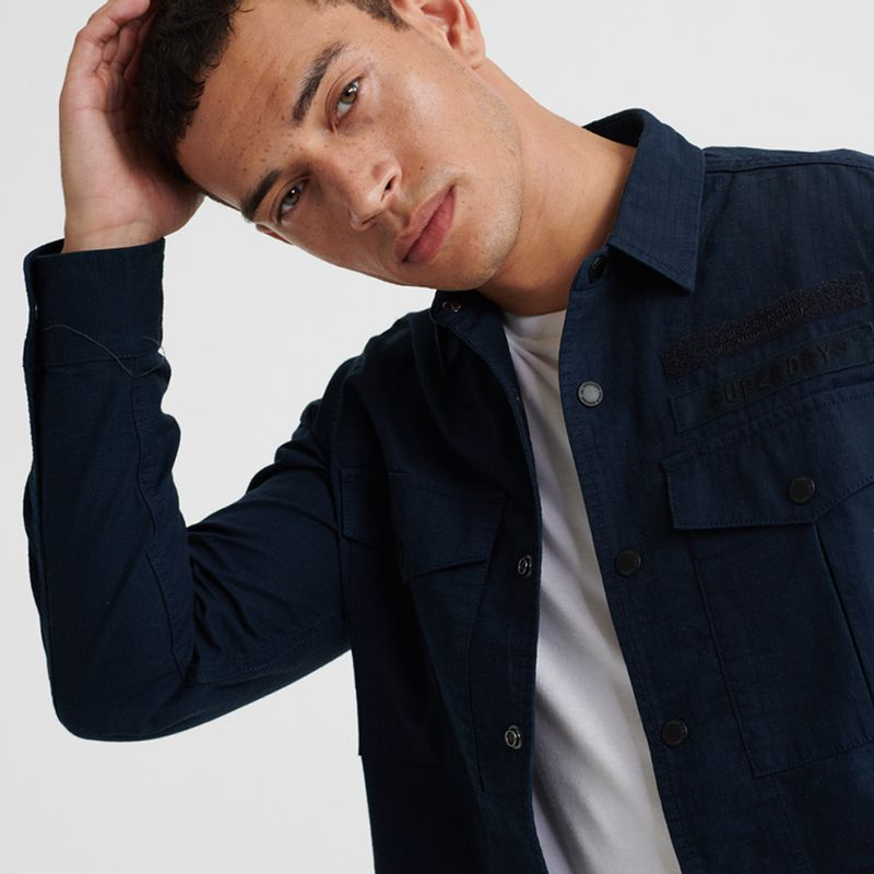 Camisa-Para-Hombre-Utility-Field-Edition-Shirt-Superdry
