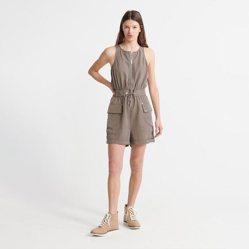 Vestido-Corto-Para-Mujer-Nevada-Halter-Playsuit-Superdry