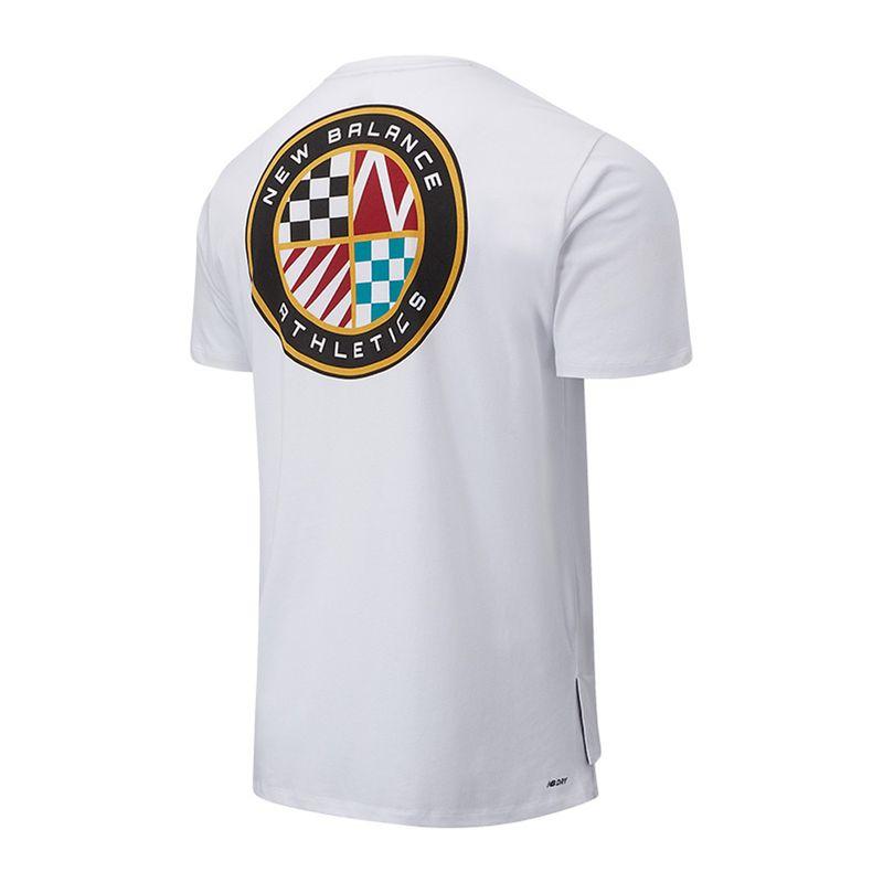 Camiseta-Para-Hombre-Men-S-Rwt-Heathertech-Tee-New-Balance